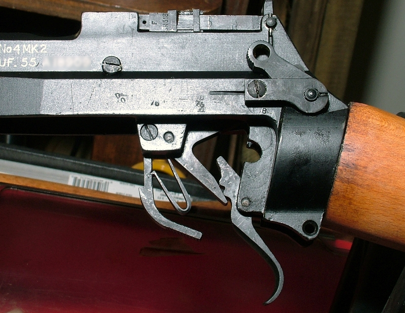 SMLE LEE ENFIELD   No4  STOCK SAFETY SPRING