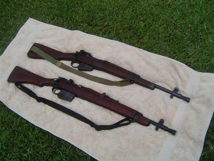 New wood for jungle carbine? - Enfield-Rifles com
